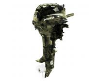 Лодочный мотор 2-х тактный HIDEA HD9,9FHS (Military)