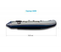 Надувная лодка Grouper 330S