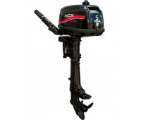 Лодочный мотор 2-х тактный HDX T 5 BMS R-Series