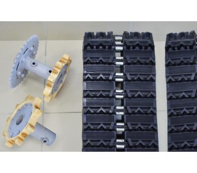 Магазин Рыболов63 реализует комплект резиновых гусениц для мотобуксировщиков KOiRA T в Самаре и Димитровграде