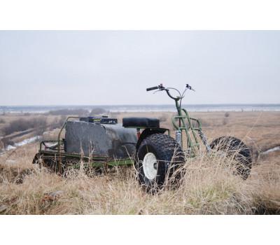 Магазин Рыболов63 реализует колесный модуль для мотобуксировщика или мотособаки с колесами низкого давления в комплекте в Самаре и Димитровграде