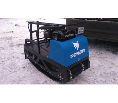 Мотобуксировщик Pomor L-380 K (катки)