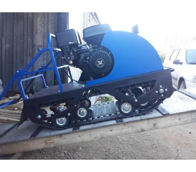Мотобуксировщик PomorL-500 P (пневмо-колеса)