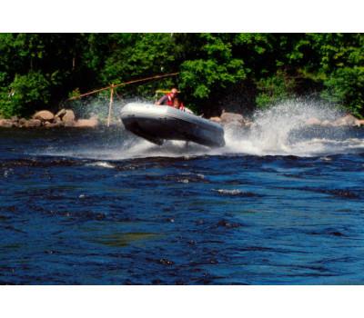 Надувная лодка-катамаран Ротан Р420М