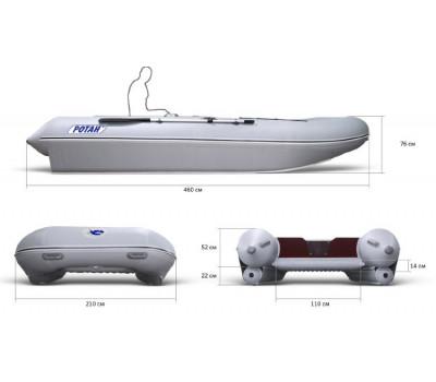 Надувная лодка-катамаран Ротан Р460