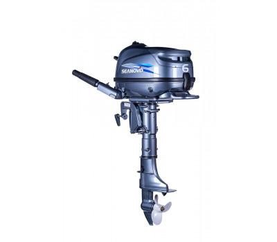 Лодочный мотор SEANOVO SNF6HS с баком 12л