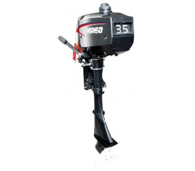 Лодочный мотор 2-х тактный HIDEA HD4FHS NEW (новый румпель)