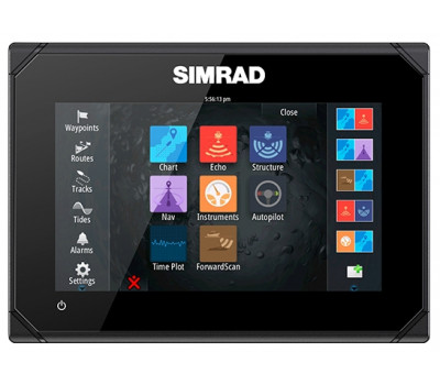 Картплоттер Simrad GO7 ROW,XSE TOTALSCAN