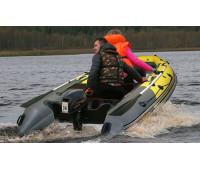Надувная лодка  REEF SKAT 350 S нд пластиковый транец
