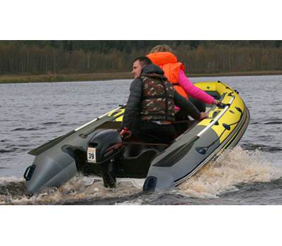 Надувная лодка Angler 350 S нд пластиковый транец