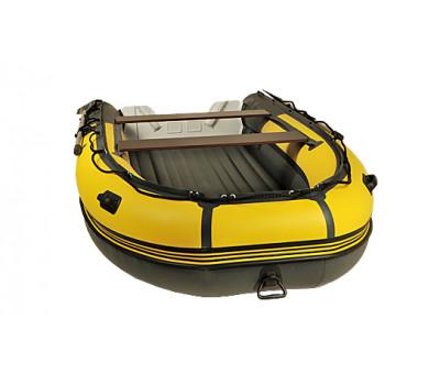 Надувная лодка  REEF SKAT 370 S нд пластиковый транец