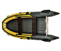 Надувная лодка Angler 400 S нд пластиковый транец