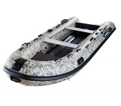 Надувная лодка GLADIATOR RIB 420AL_В CAMO