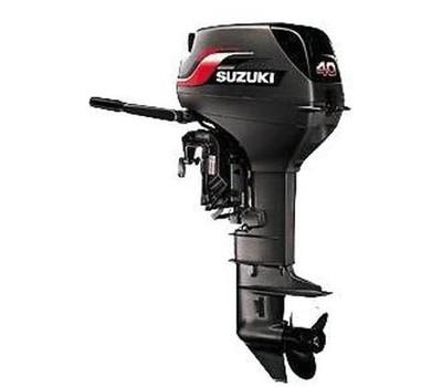 Лодочный мотор 2х тактный Suzuki DT 40 WS (WL) 40 л.с.