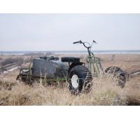 Колесный модуль для мотобуксировщика или мотособаки с колесами низкого давления в комплекте