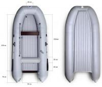Надувная лодка Ротан Р430
